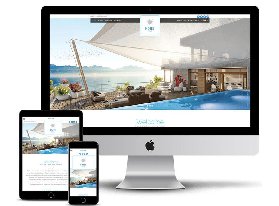 Δημιουργία Ιστοσελίδας τουριστικής προβολής