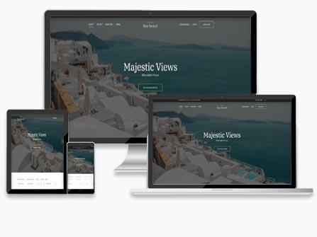 Ιστοσελίδες για ξενοδοχεία, τουριστικά γραφεία, ενοικιαζόμενα δωμάτια